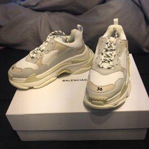 Balenciaga Lace-Up Sneaker white
