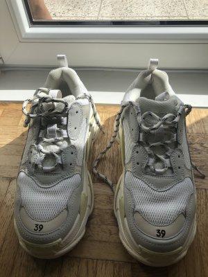 Balenciaga Heel Sneakers white-natural white