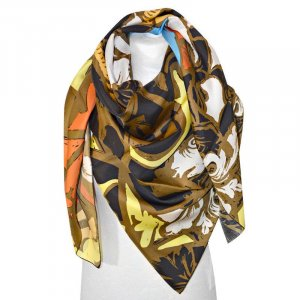 Balenciaga Kerchief multicolored silk
