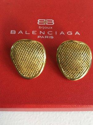 Balenciaga Vintage Ohrringe Gold