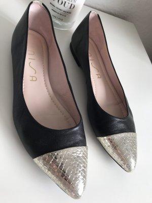 Balerinas Leder Schuhe Unisa Görtz Soft Leder