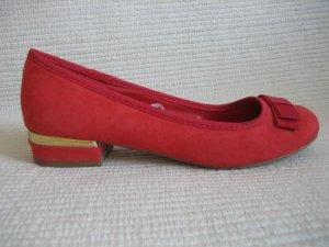 Atmosphere Slingback Ballerinas red
