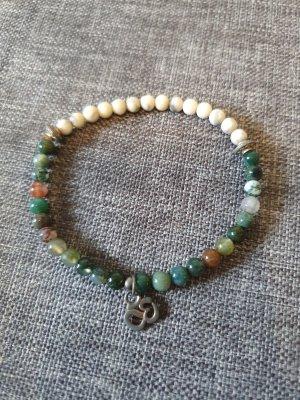 Bali Echtstein Armband om Yoga karma