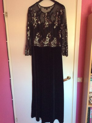 Ball Dress black mixture fibre