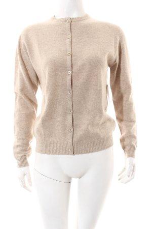 Ballantyne Knitted Cardigan beige flecked elegant