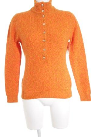 Ballantyne Knitted Sweater light orange-primrose casual look