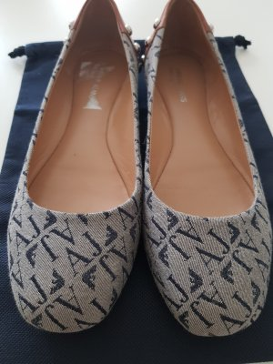 Armani Ballerinas taupe-grey brown