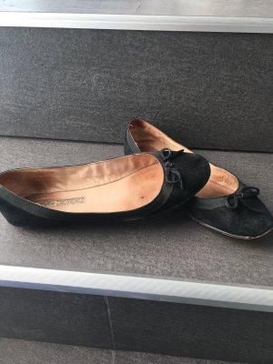 Ballarinas schwarz Buffalo London Wildleder Schuhe Sommer Sandalen sneaker 38