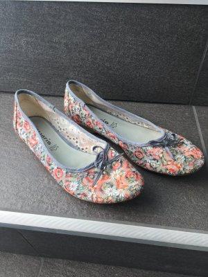 Ballarinas tamaris Schuhe Sandalen Blumen blau pink 39 sneaker Blogger
