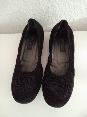 Paul Green Mary Jane Ballerinas black