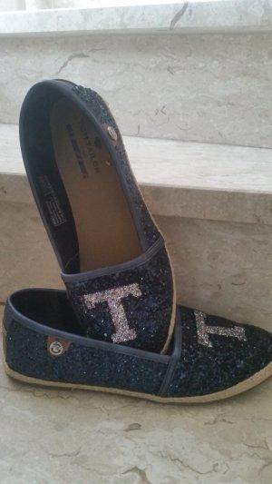 Tom Tailor Ballerines pliables bleu foncé