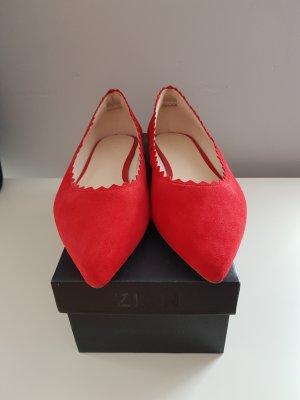Zign Bailarinas rojo