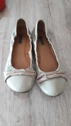 Belmondo Foldable Ballet Flats green grey