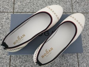 Hogan Ballerines Mary Jane blanc