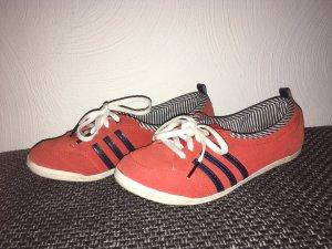 Adidas NEO Ballerines rouge