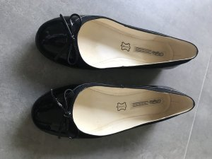 Buffalo Patent Leather Ballerinas black