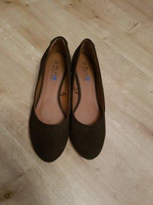 Bailarinas marrón oscuro