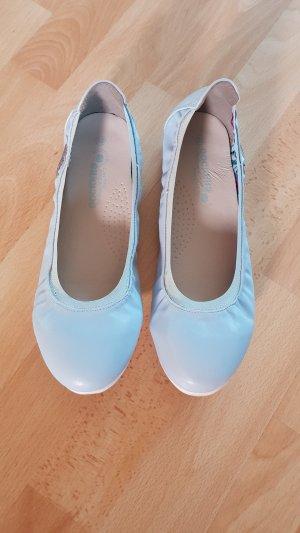 Dockers Opbouwbare ballerina's azuur-babyblauw