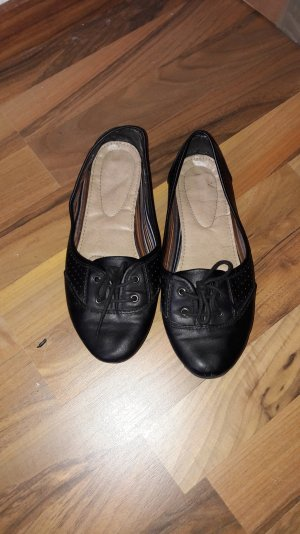 Ballerina espadrilles schwarz  Gr. 37
