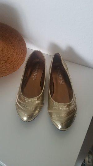 Ballerines doré