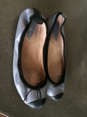 Bloch Mary Jane Ballerinas black-slate-gray