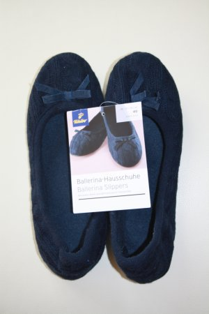 Ballerina Hausschuhe / Slippers / blau / Gr. 40 / TCM Tchibo / NEU mit Etikett !