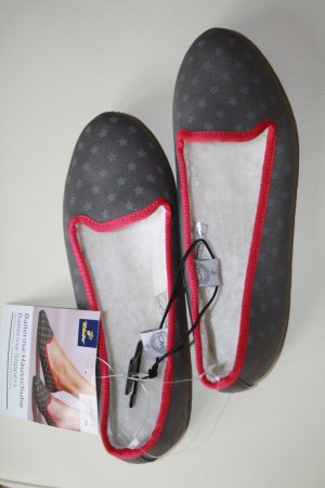 Ballerina Hausschuhe / Slippers / grau / Gr. 39 / TCM Tchibo / NEU mit Etikett !