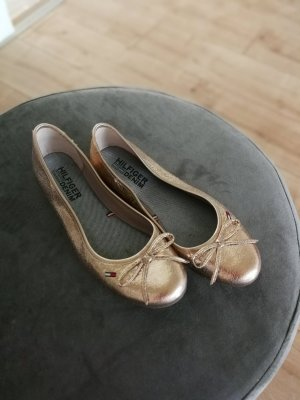 Ballerina Hilfiger gold