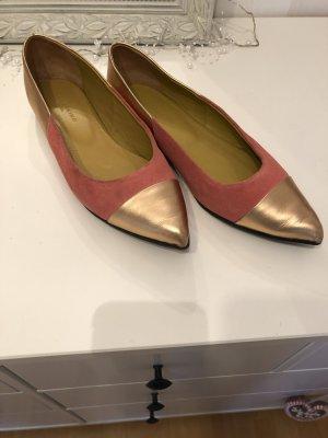 Liebeskind Berlin Ballerinas with Toecap pink-sand brown imitation leather