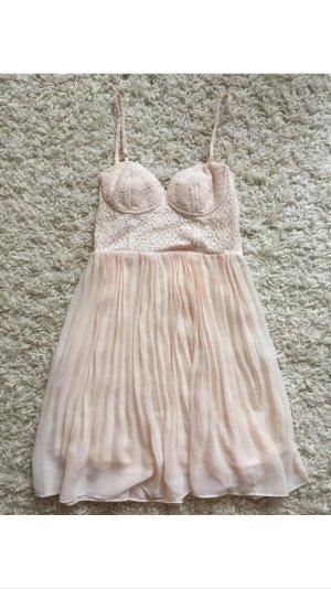 Ballerina Kleid rosa nude Größe S