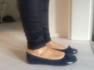 Ballerina Lack Gr. 37 Damen Schuhe