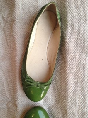 Ballerina Lackschuhe Gr 41 grün