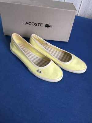 Ballerina Lacoste Stoff Schuhe