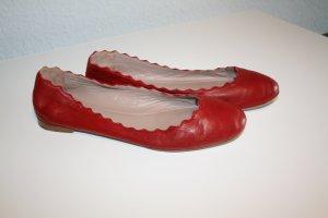 """Ballerina """"Lauren"""" von Chloé, rot, Gr.36"""