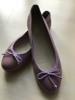 Ballerina Leder lila Gr.37 Alba Moda