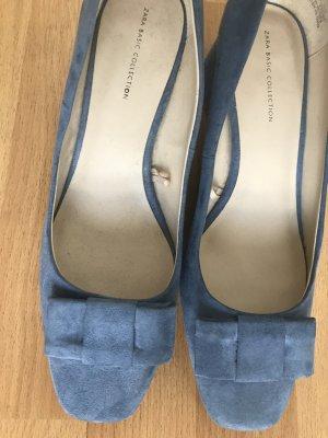Zara Ballerines bleuet