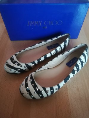 Jimmy Choo for H&M Ballerinas white-black