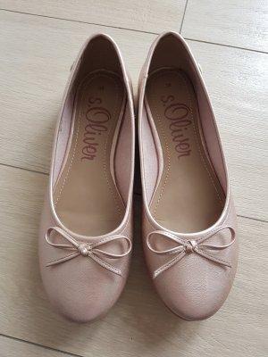 Ballerina rosefarben s.Oliver Gr. 38 rosa neu
