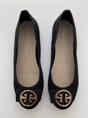 Zapatos formales sin cordones negro