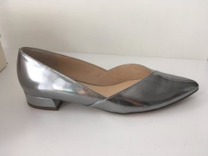 Högl Patent Leather Ballerinas silver-colored