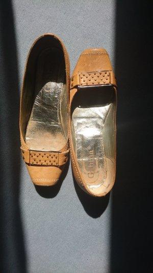 Ballerina Slipper with Style:Flacher Lederschuh, Größe 37,5