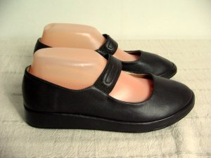 Kayla Mary Jane Ballerinas brown synthetic
