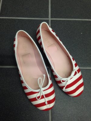 Ballerina tchibo rot weiß