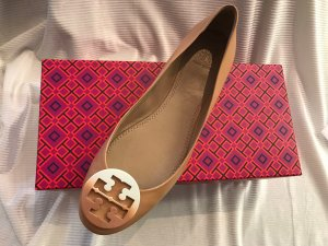 Tory Burch Ballerines Mary Jane marron clair