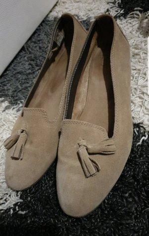 Foldable Ballet Flats grey brown