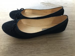 Buffalo London Ballerines Mary Jane noir