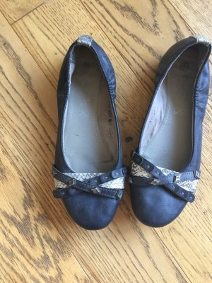 Dockers Mary Jane Ballerinas dark blue-silver-colored