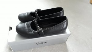 Gabor Strappy Ballerinas black