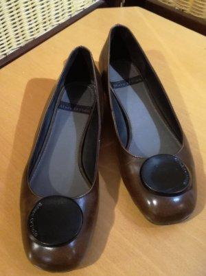 Marc O'Polo Ballerinas dark brown leather