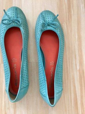 Tamaris Ballerinas light blue